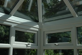 A PVCu and Glass Roof