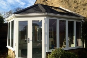 Enginneered Timber Conservatory with Guardian Tiled Roof