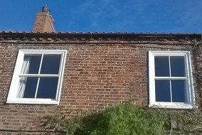 Timber Sash Window including new Lintels